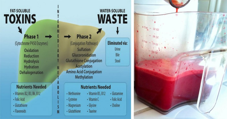 beet liver cleanse juice