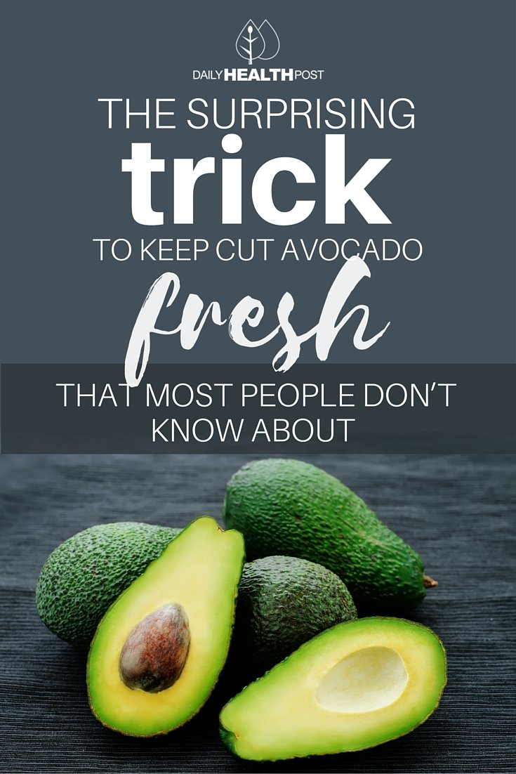 keep avocado fresh