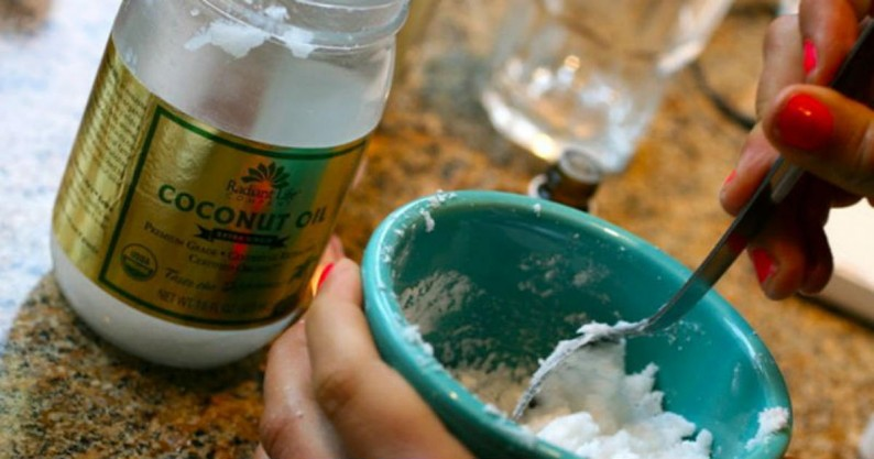 coconut oil cleanse