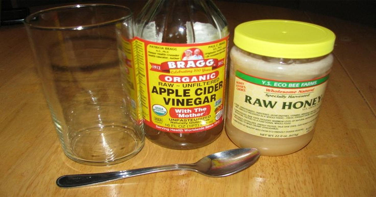 honey and apple cider vinegar