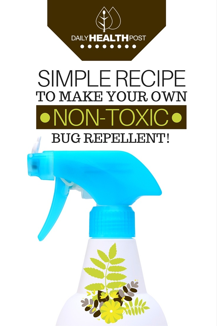 Simple Recipe To Make Your Own Non-Toxic Bug Repellent!