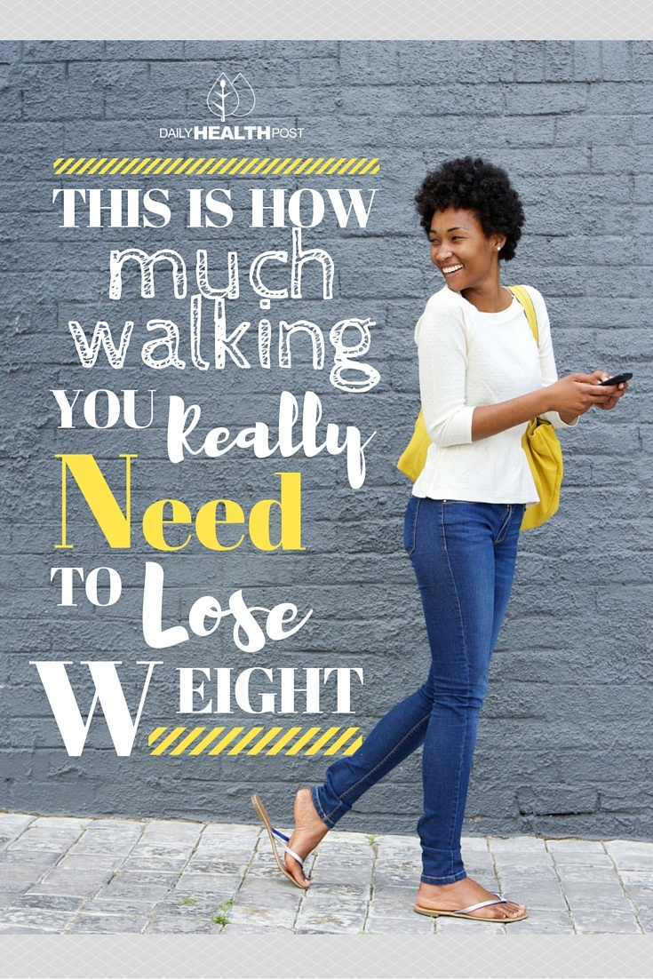 This Is How Much Walking You REALLY Need To Lose Weight
