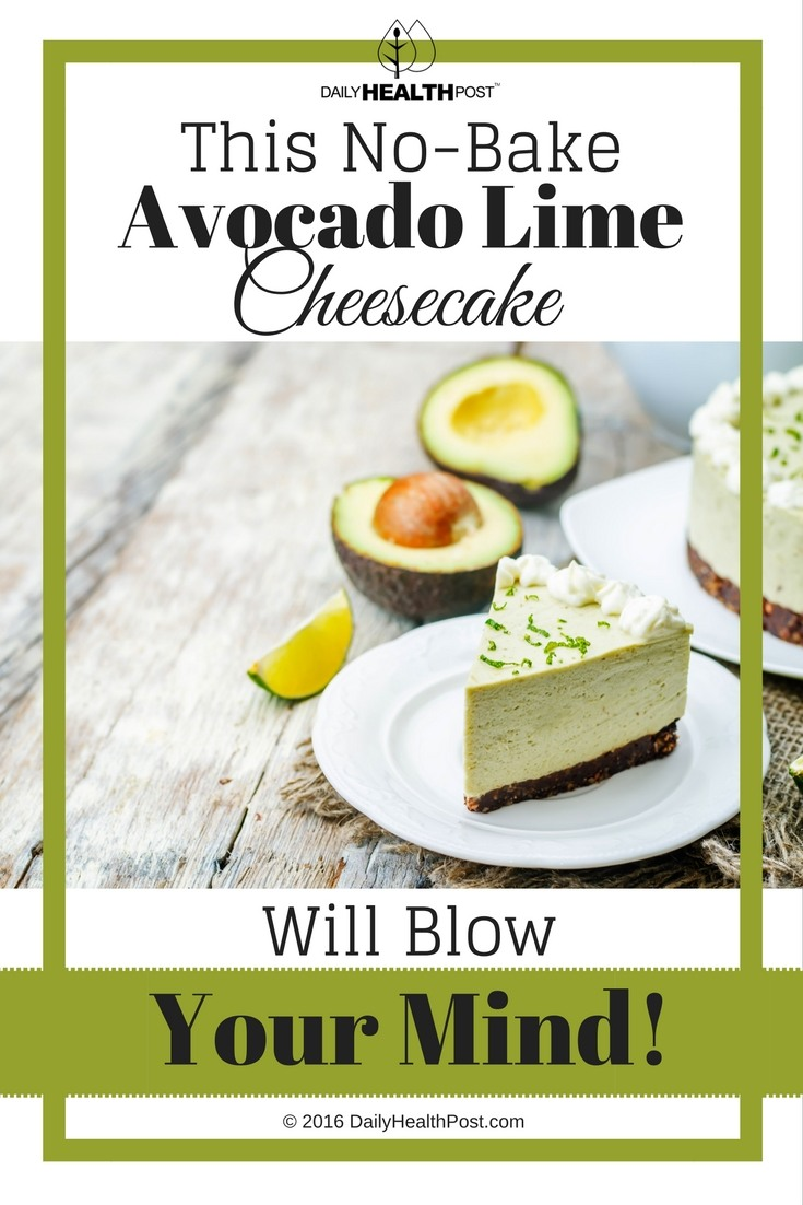 08 This No-Bake Avocado Lime Cheesecake Will Blow Your Mind!