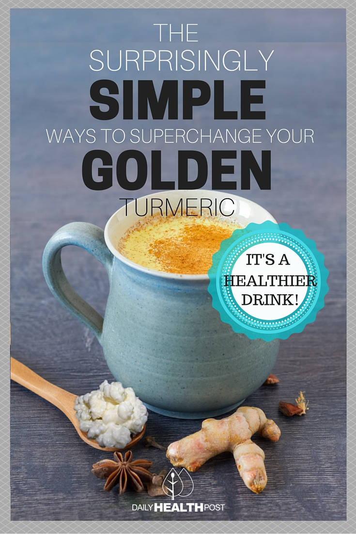 golden turmeric milk kefir