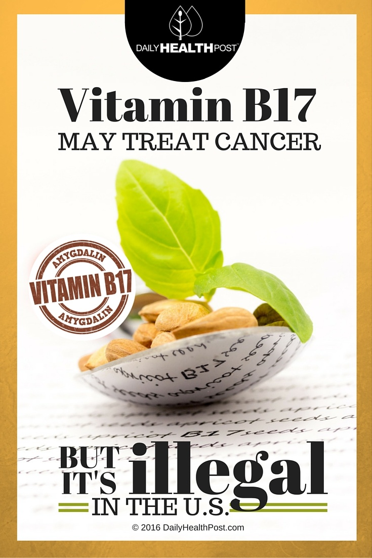 02 Vitamin B17 May Treat Cancer but is Illegal in the U.S.!