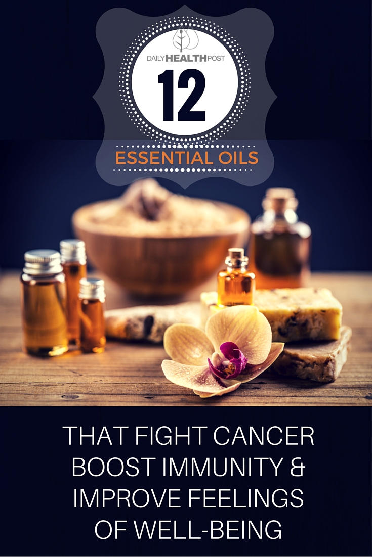 essential oils cancer