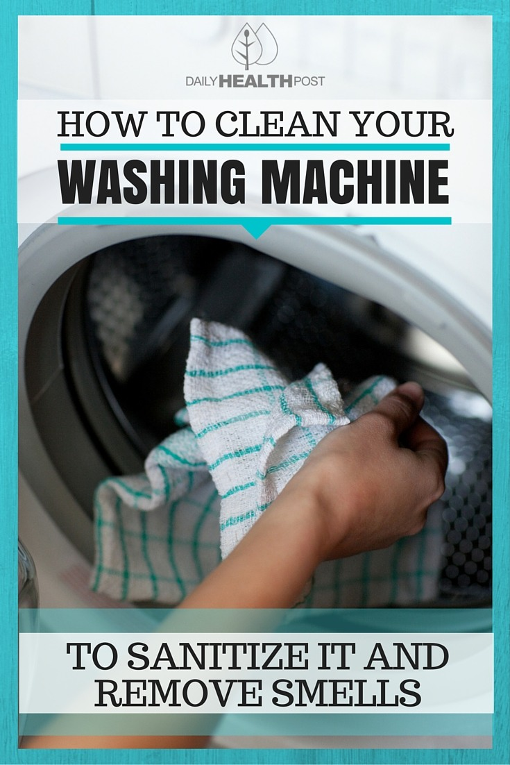 How To Clean Your Washing Machine To Sanitize It And Remove Smells