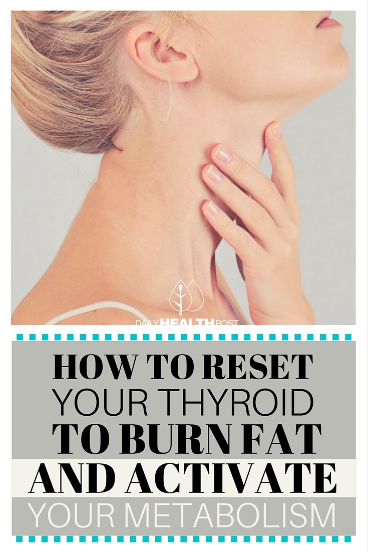 How to Reset Your Thyroid to Burn Fat and Activate Your Metabolism