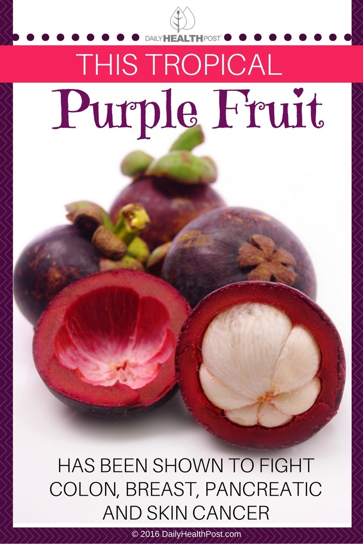 01 This Tropical Purple Fruit Has Been Shown to Fight Colon, Breast, Pancreatic and Skin Cancer