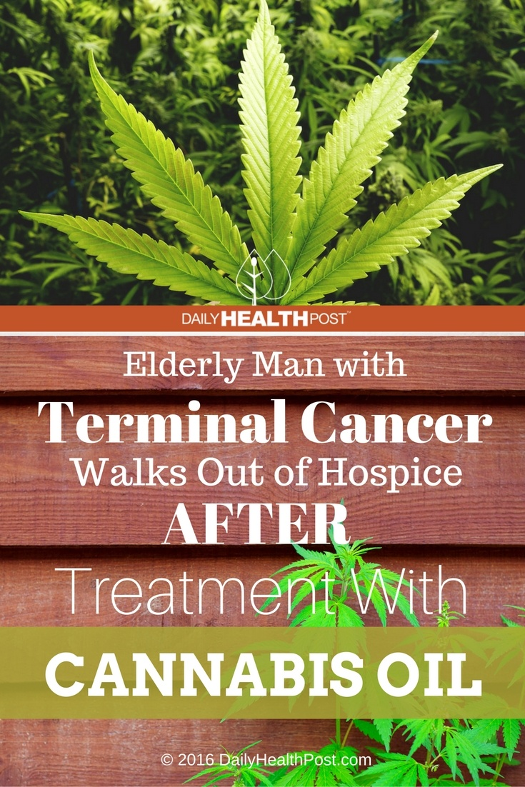 03 Elderly Man with Terminal Cancer Walks Out of Hospice After Treatment With Cannabis Oil