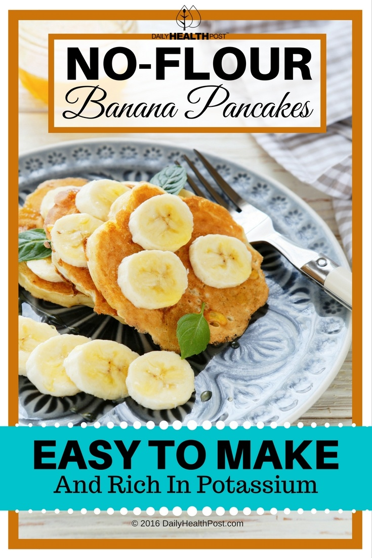 06 No-Flour Banana Pancakes Are Easy To Make And Rich In Potassium