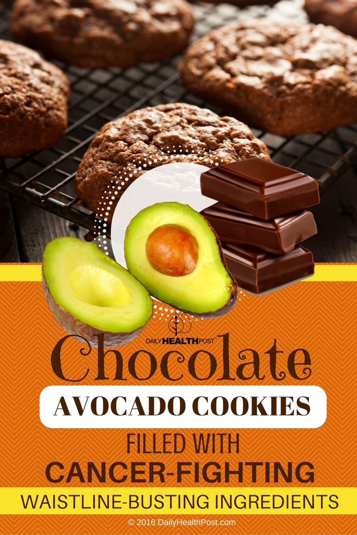 08 Chocolate Avocado Cookies FILLED With Cancer-Fighting, Waistline-Busting Ingredients