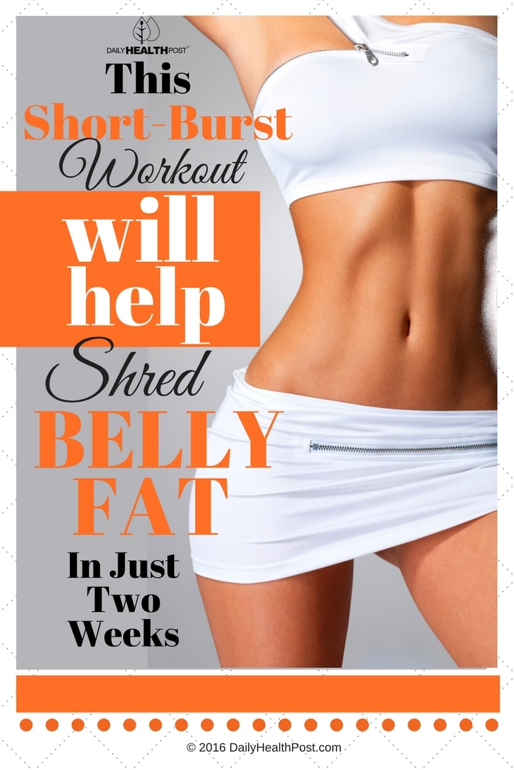 Short-Burst-Workout-Routine-Help-Shred-Belly-Fat-In-Two-Weeks