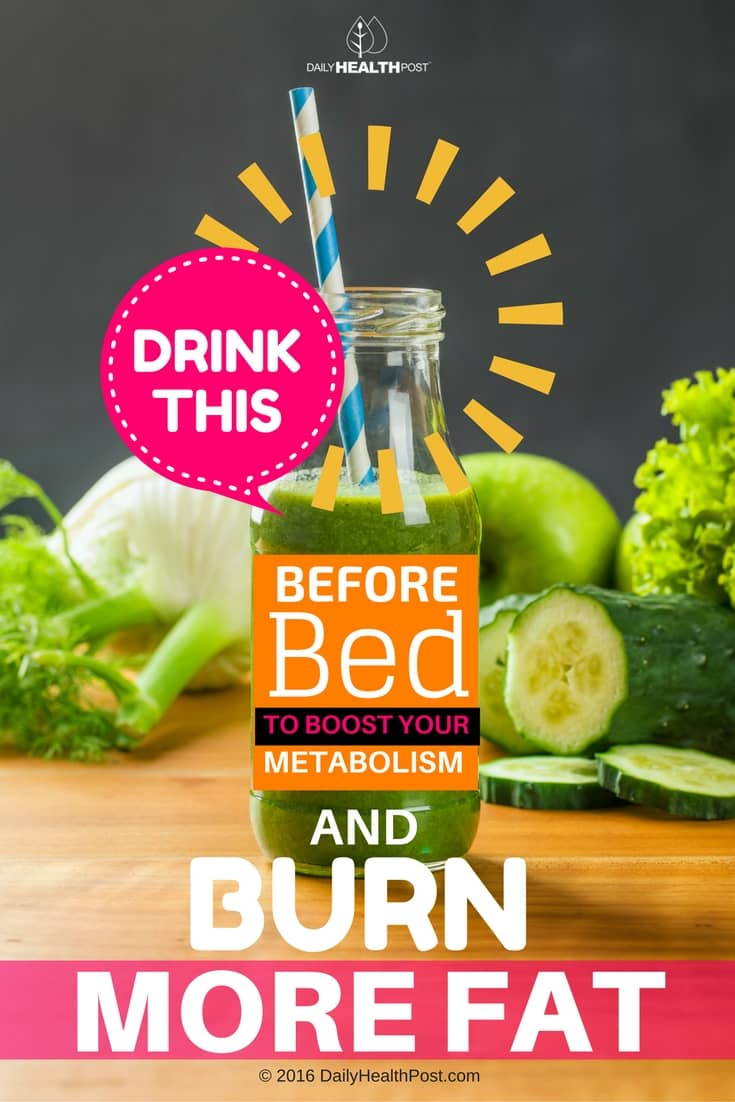 Drink-THIS-Before-Bed To-Boost-Metabolism-Burn-More-Fat