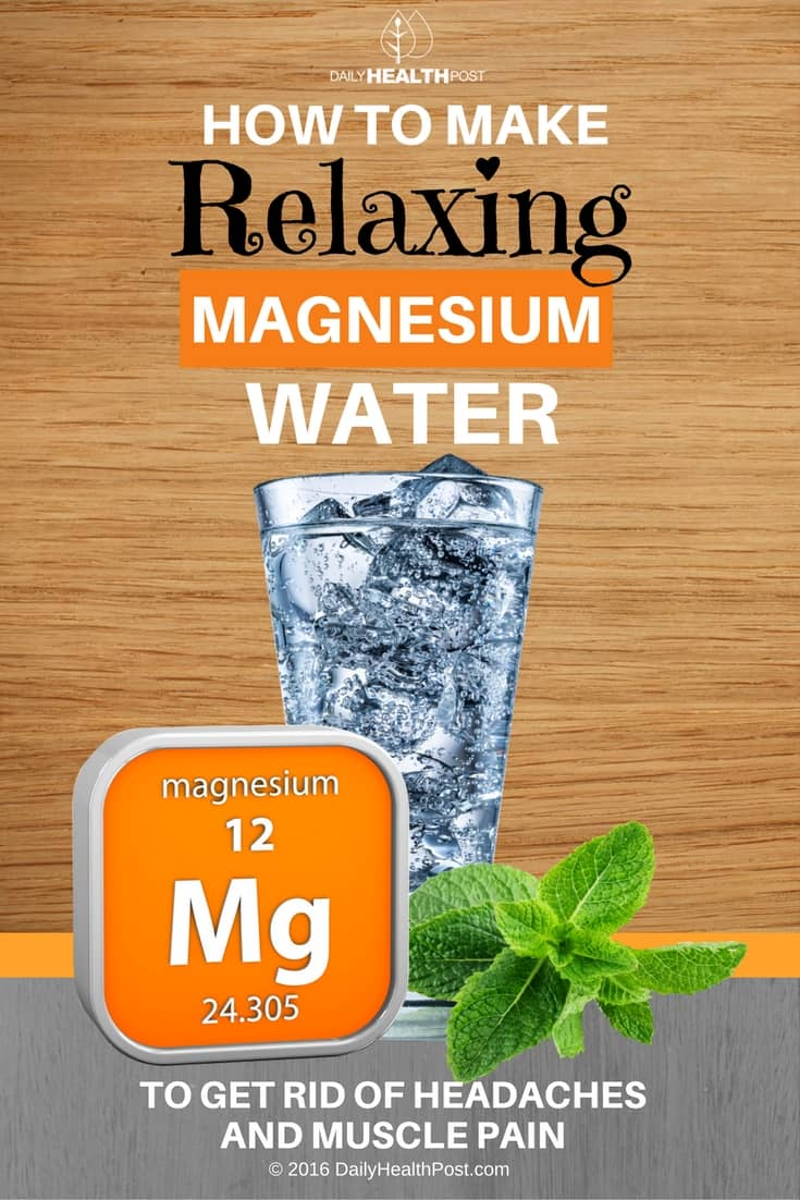 Magnesium-Water-to -get-Rid-of-Headaches-and-Muscle-Pain