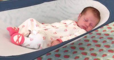 infant safety bed