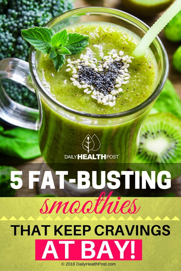 5 Fat-Busting Smoothies That Keep Cravings at Bay