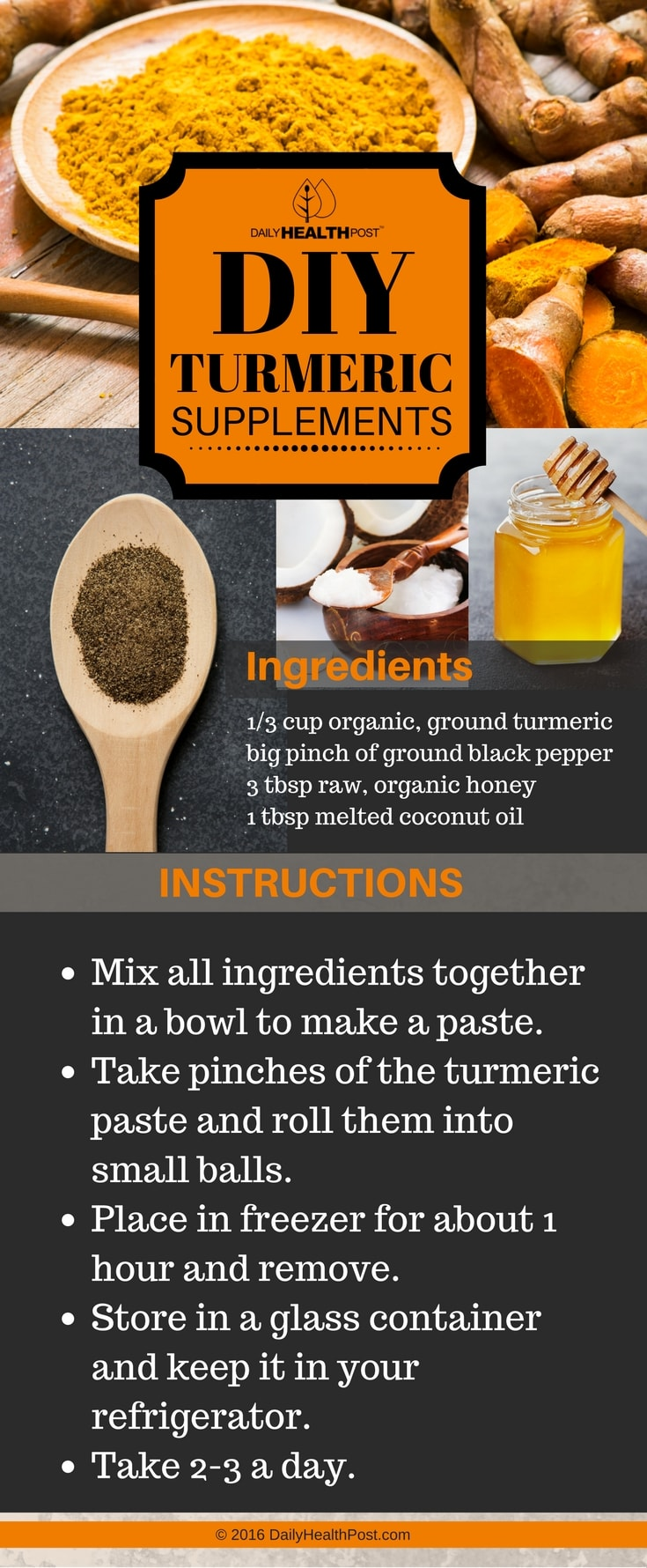 diy turmeric supplements
