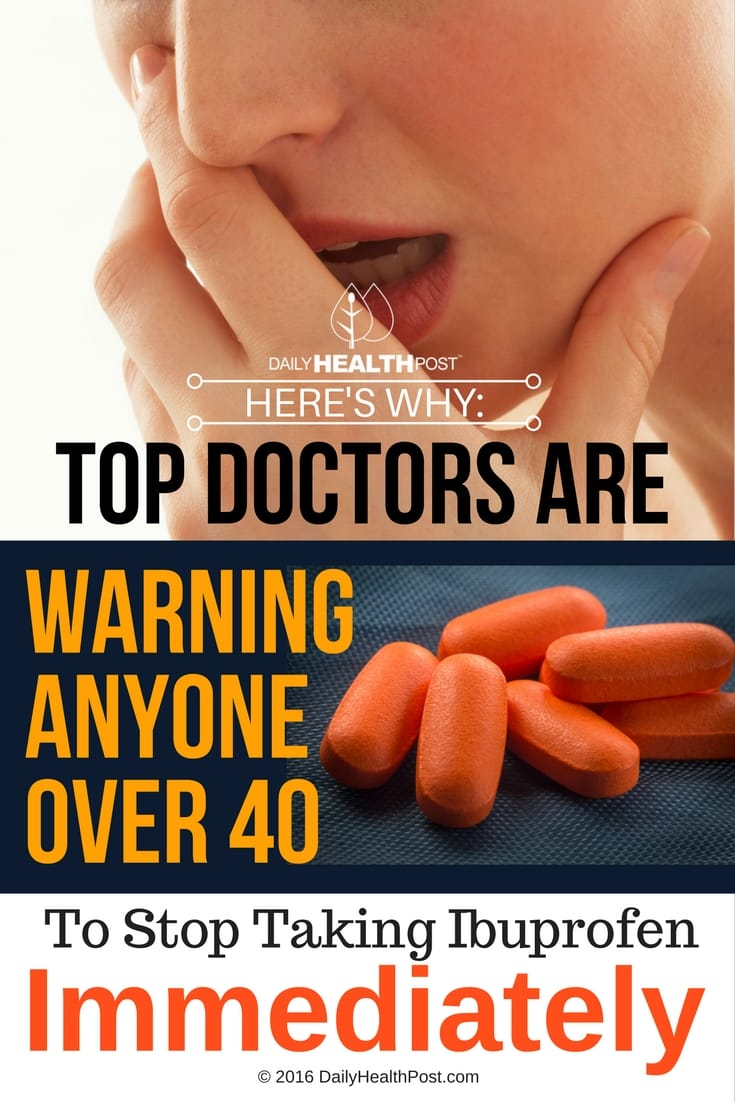 stop taking ibuprofen