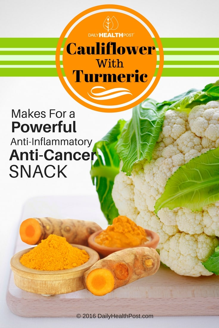 Cauliflower-With-Turmeric-Makes-For-a-Powerful-Anti-Inflammatory-And-Anti-Cancer-Snack