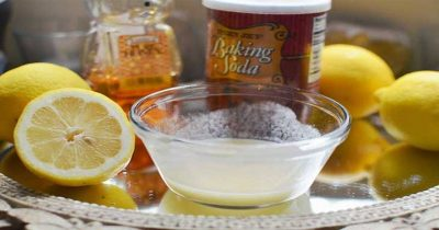 lemon baking water