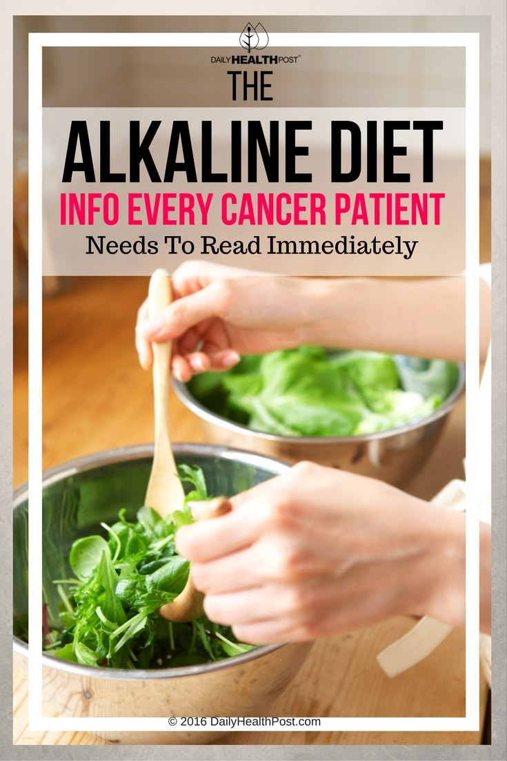 alkaline diet cancer