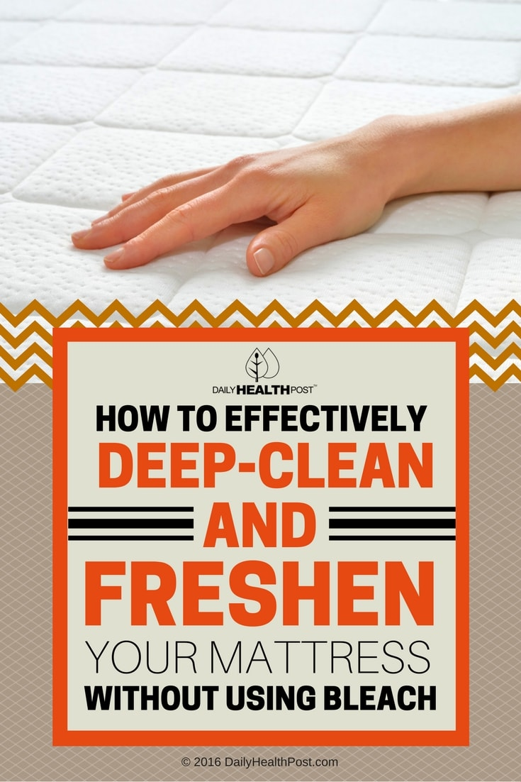 How To Clean Foam Mattress Without Vacuum