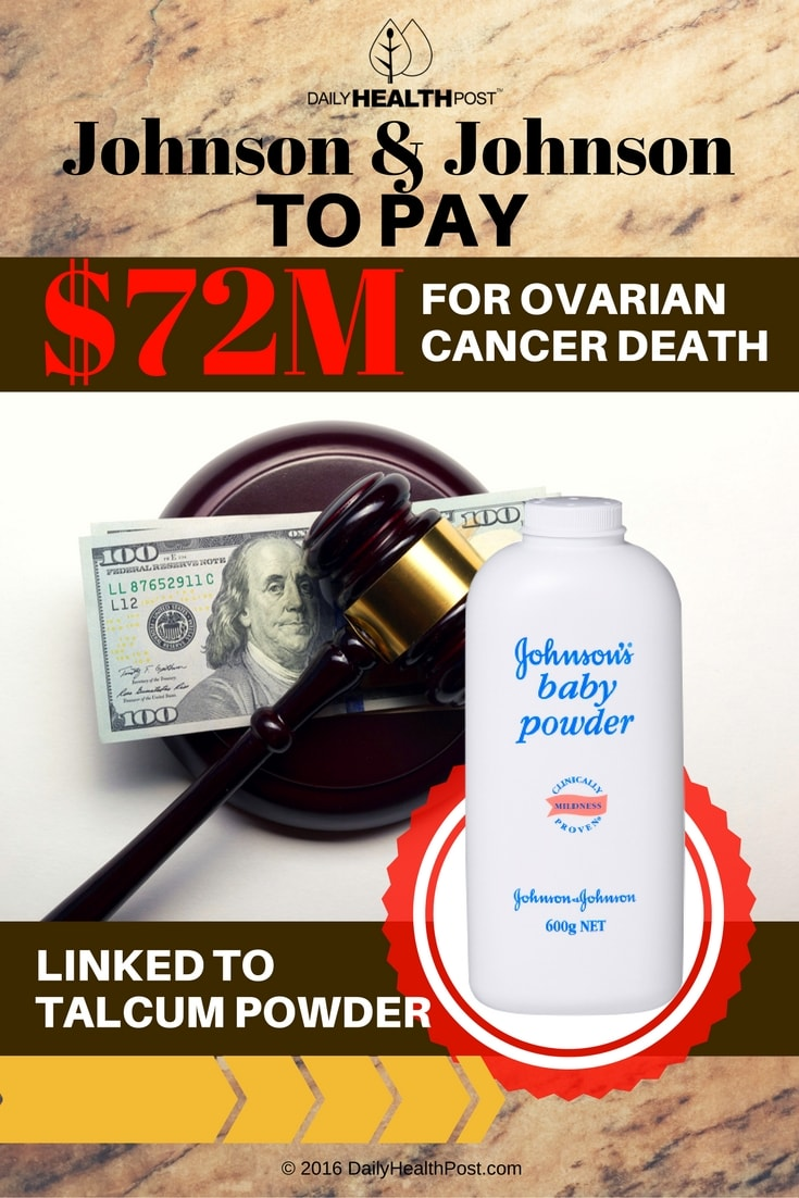 johnson-n-johnson-to-pay-72m-for-ovarian-cancer-death