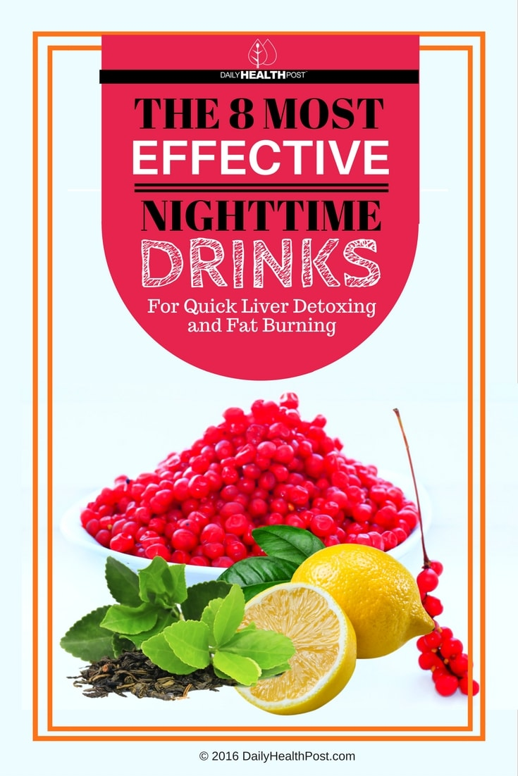 the-8-most-effective-nighttime-drinks-for-quick-liver-detoxing-and-fat-burning
