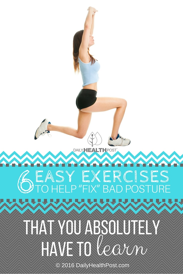 exercises fix bad posture