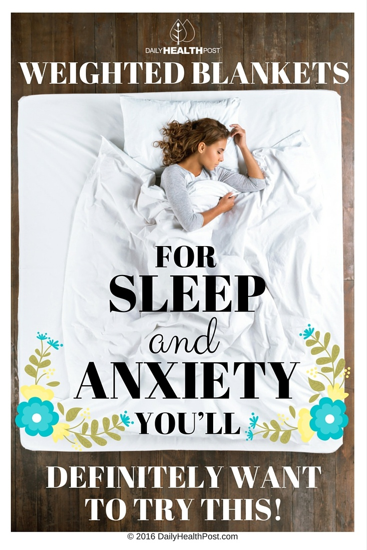 Weighted Blanket Benefits Anxiety Blog Dandk