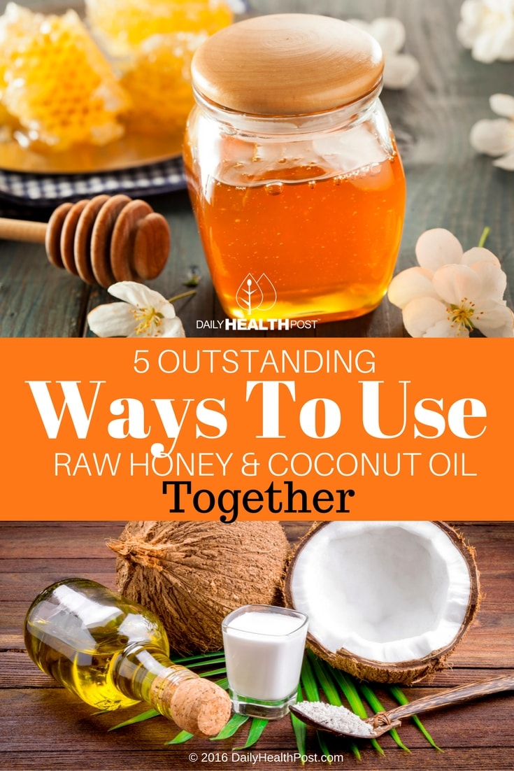5-outstanding-ways-to-use-raw-honey-and-coconut-oil-together