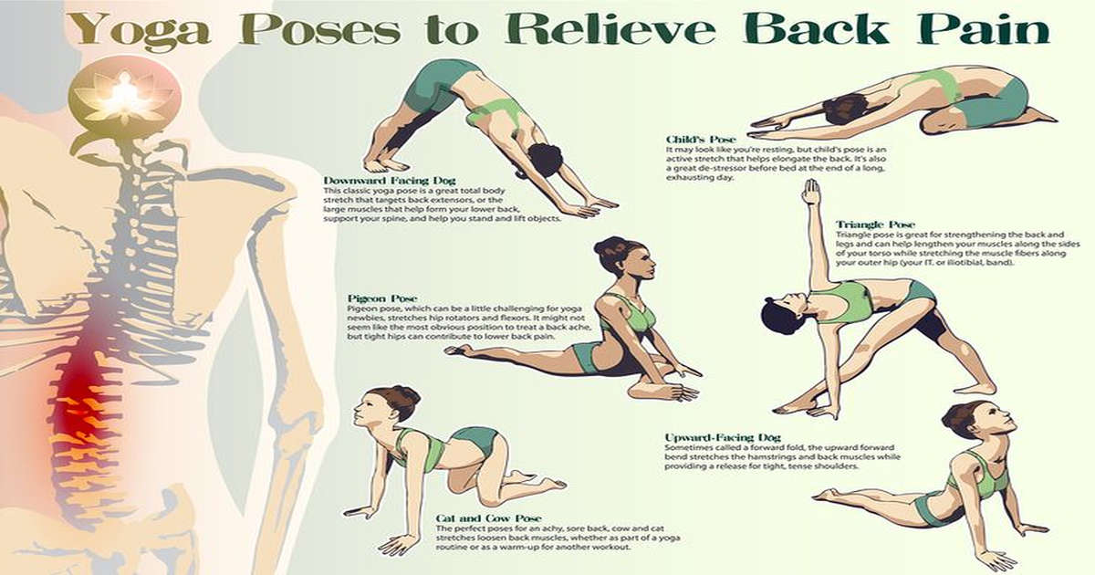 8 Yoga Poses For Back Pain You Can Do In 8 Minutes Or Less