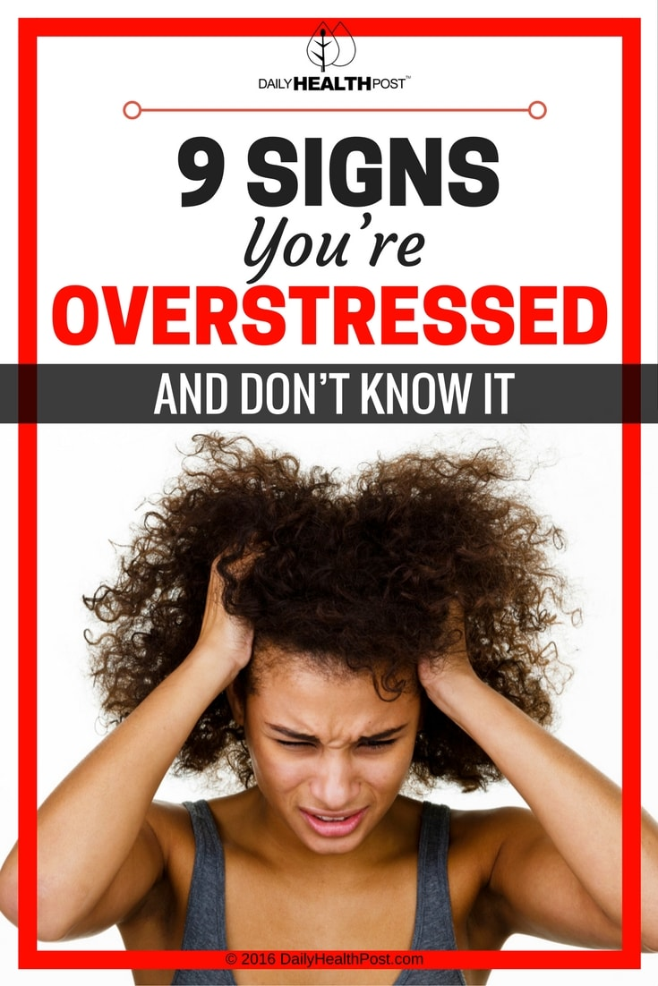 signs overstressed