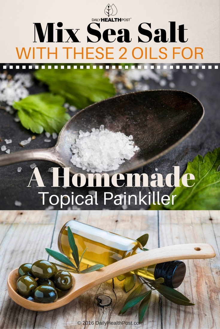 mix-sea-salt-with-these-2-oils-for-a-homemade-topical-painkiller