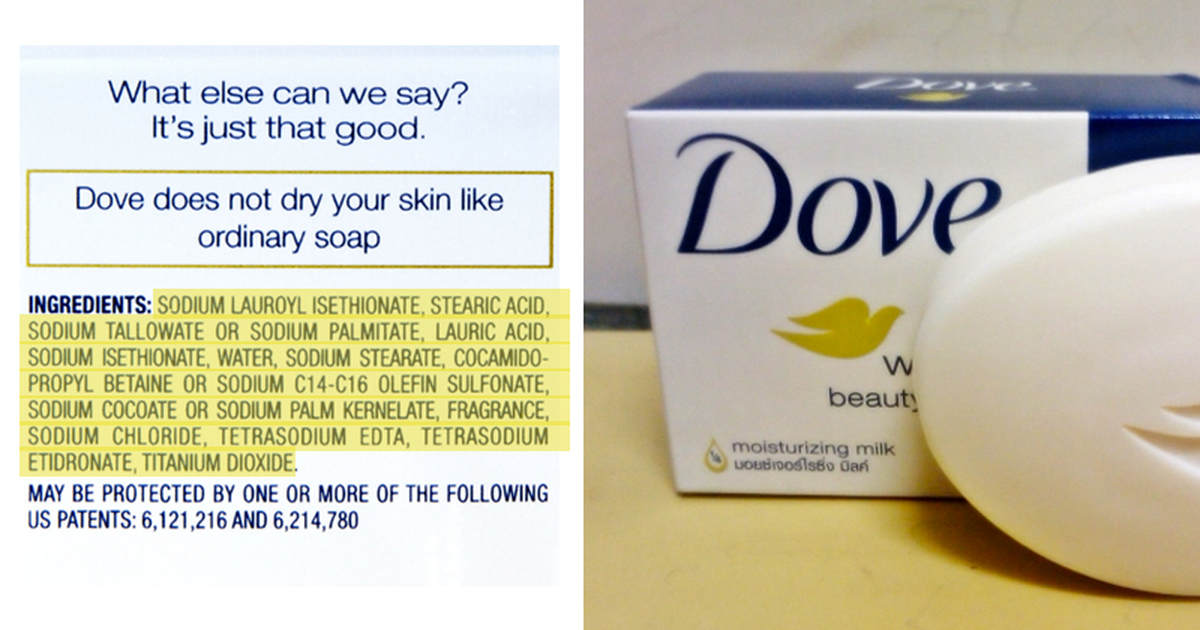These Dove Products Are Loaded With Cancer Causing Chemicals