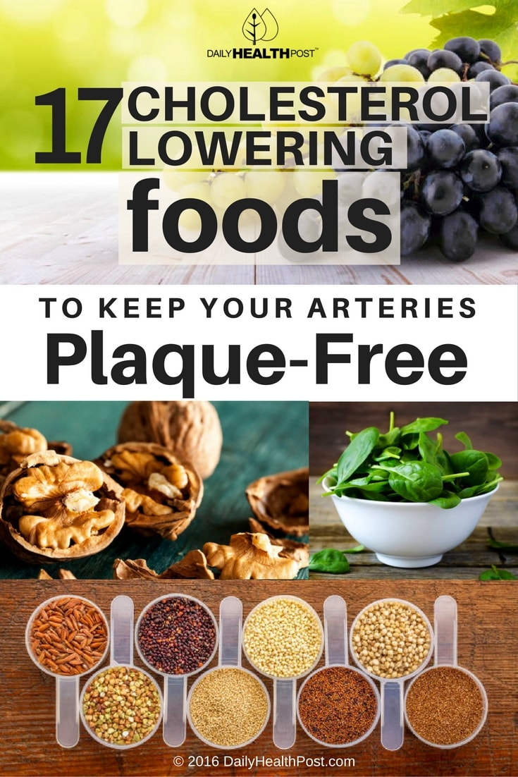 17-cholesterol-lowering-foods-to-keep-your-arteries-plaque-free