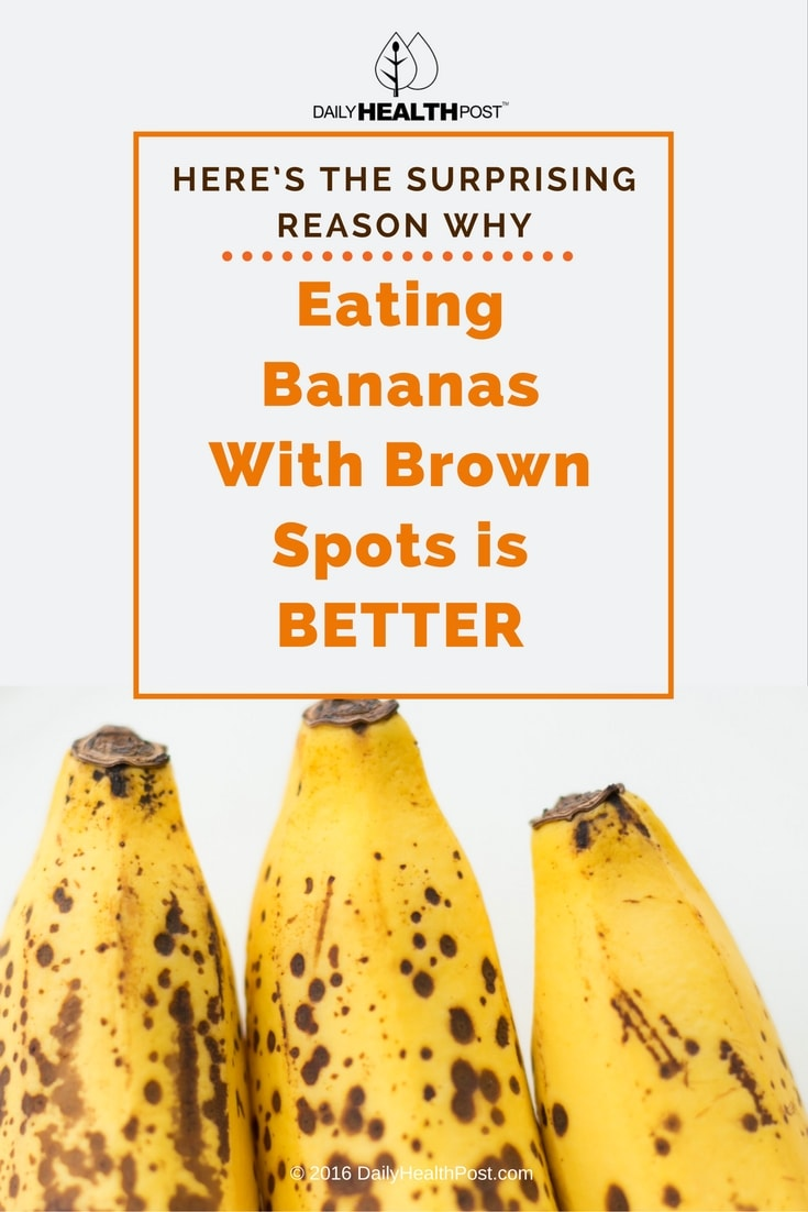 Heres why eating bananas with brown spots is better heres the surprising reason why eating bananas buycottarizona Choice Image