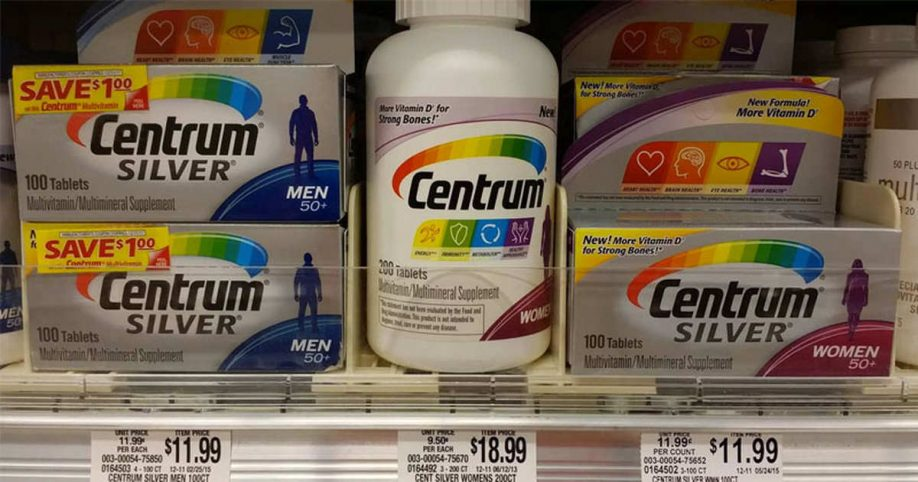centrum multivitamin