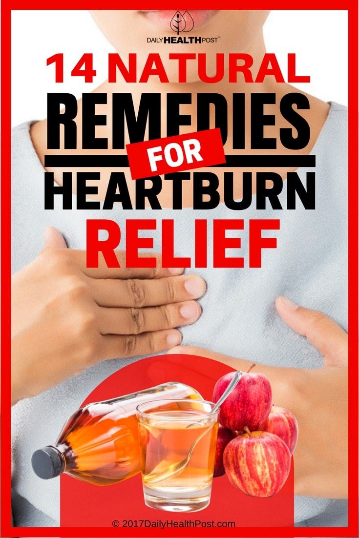 remedies for heartburn relief