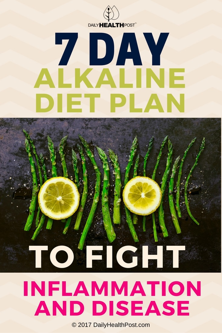 7 day alkaline diet plan to fight inflammation and disease forumfinder Gallery
