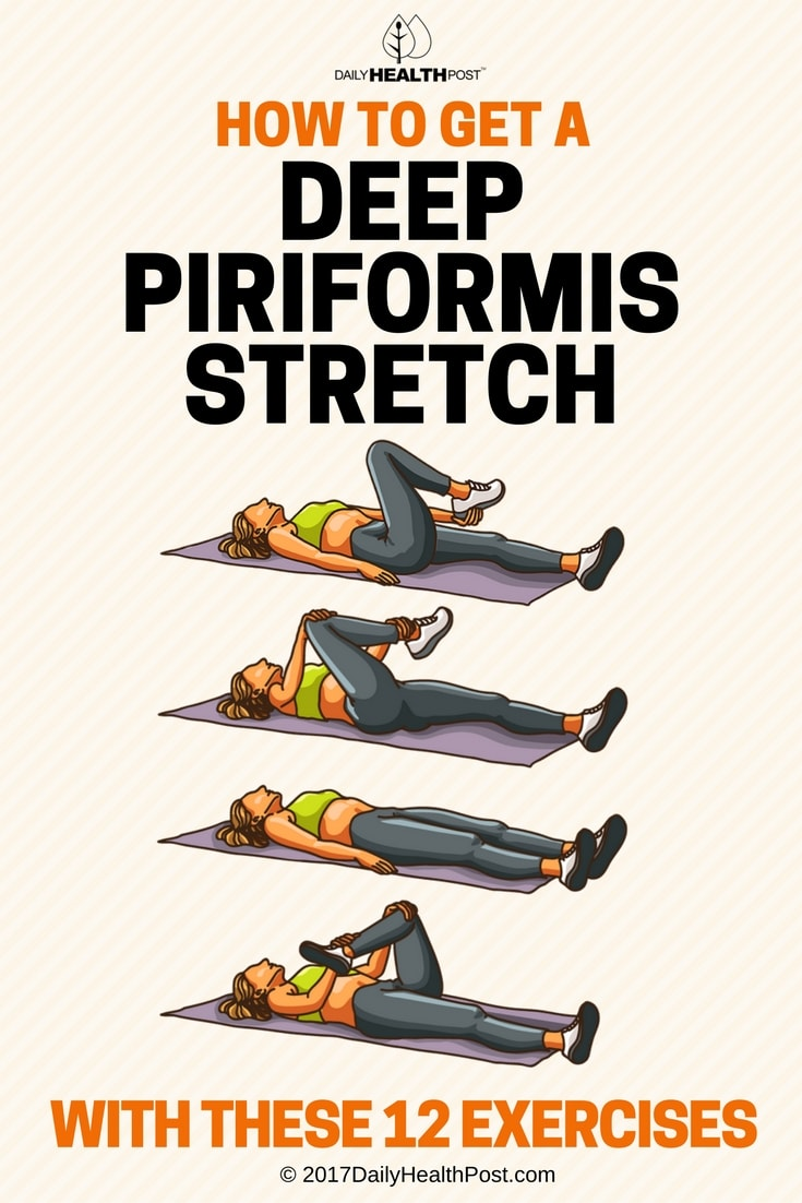 How To Get A Deep Piriformis Stretch To Get Rid Of Pain In The Back, Hip, Buttocks & Legs