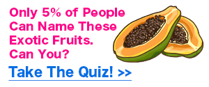 Exotic Fruits Quiz Promo