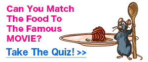 Food Movie Quiz Promo