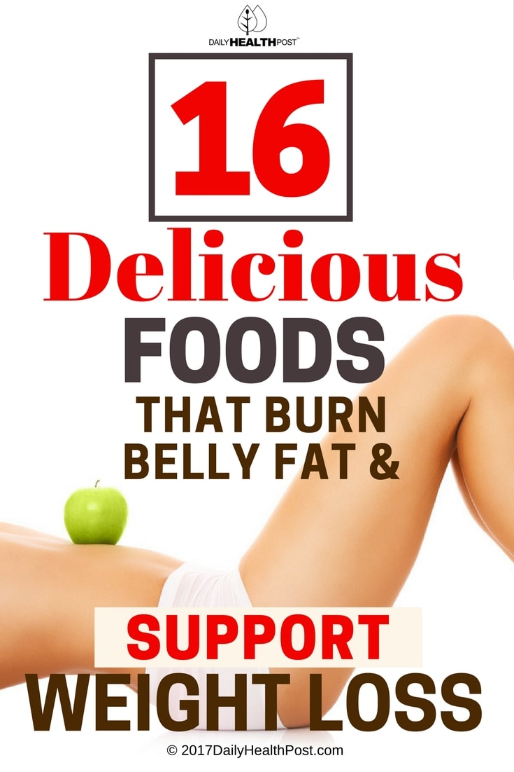 foods burn belly fat