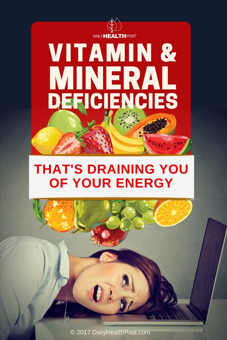10 Vitamin or Mineral Deficiencies Related to Fatigue