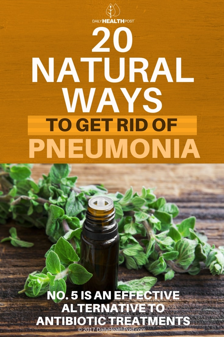 how to get rid pneumonia
