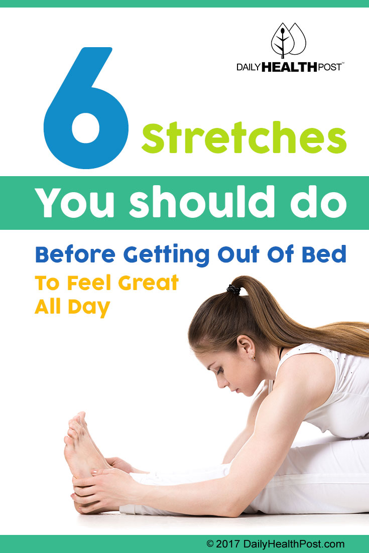 6 stretches before getting out of bed