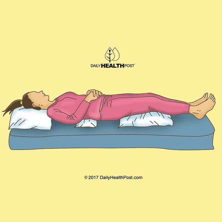Best sleeping position 9 positions to help improve your for Best sleeping posture for lower back pain