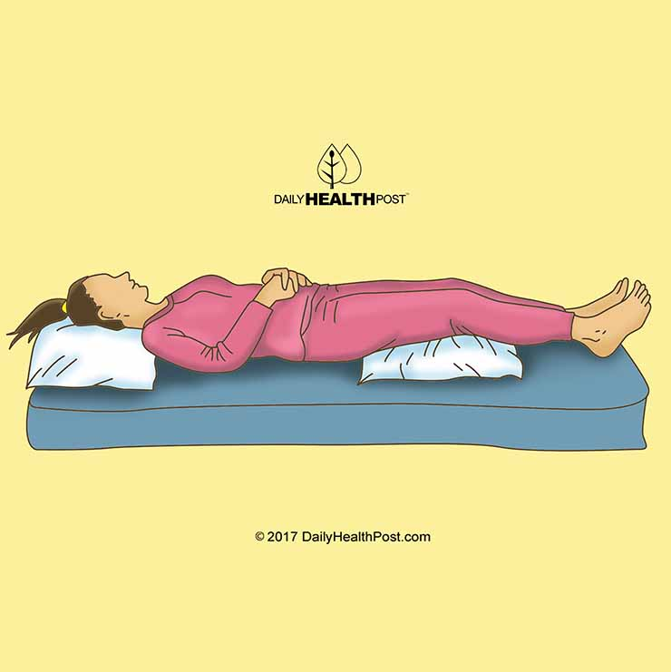 Best sleeping position 9 positions to help improve your health for menstrual pain best sleeping position ccuart Images